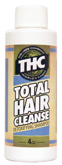 THC Total Hair Cleanse 4oz detox shampoo